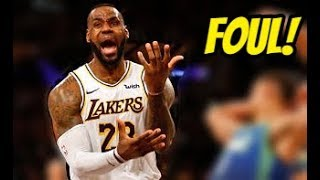 """NBA """"Flops & Crybaby"""" Moments (2019-20)"""
