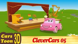 Cars Toon - Little Giants Goquest CleverCars 05 musical instruments -  ENGLISH