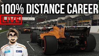 F1 2018 - 100% Distance Career Mode | Round 2: Bahrain