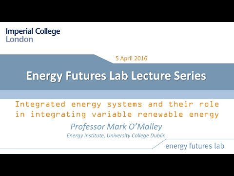 Integrated energy systems and their role in integrating variable renewable energy