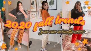 FALL TRENDS 2020 you can actually wear... 🍂 a spicy FALL HAUL