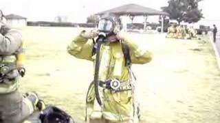 How to don an SCBA in 40 seconds