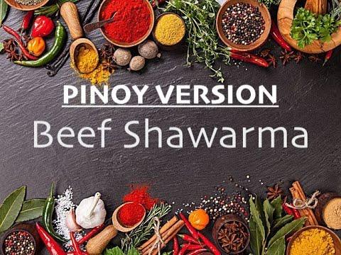 Pinoy Style Beef Shawarma   Garlic Sauce - YouTube