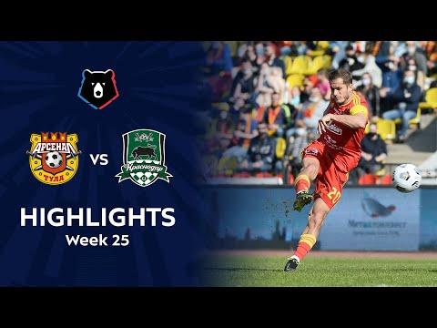 Arsenal Tula Krasnodar FK Goals And Highlights