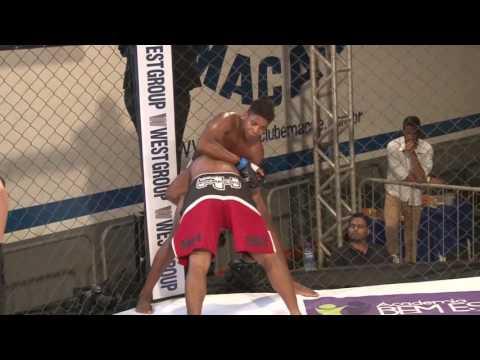 "Marcos Vinícius ""sorriso"" vs Michel Couto - X Force MMA 3 - 18/06/16"