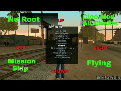 How to add CLEO scripts in GTA SA without root!!!!!??? Very easy!!!!!! MUST watch !!!!!!!