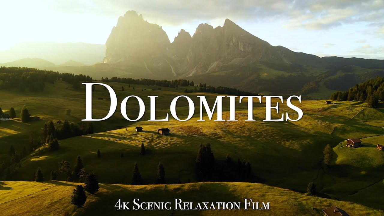 Download The Dolomites 4K - Scenic Relaxation Film With Calming Music