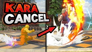 How To Cancel Down Smash Into Specials - Late Kara Cancel