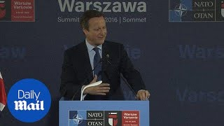 David Cameron says 'we must have a dialogue with Russia' - Daily Mail