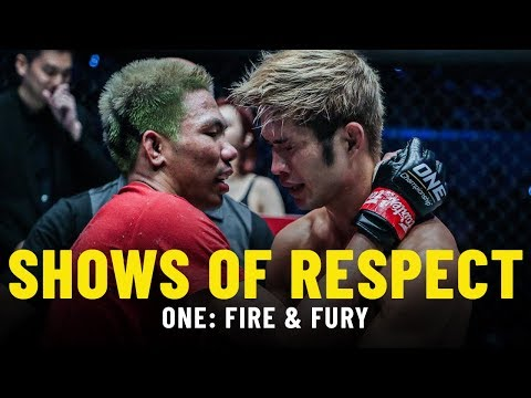Shows Of Respect   ONE: FIRE & FURY