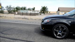 MazdaSpeed3 Corksport Turbo w/EWG rolling video