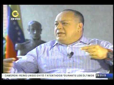 Esto fue lo que respondió Cabello consultado sobre caso de narcotráfico