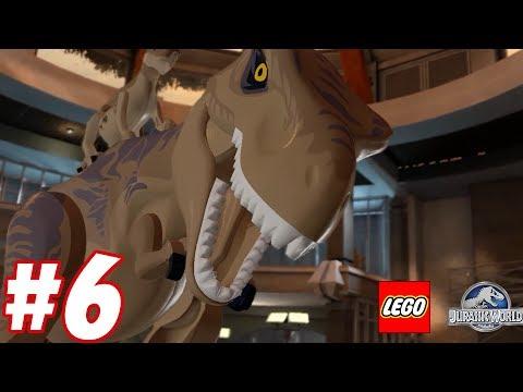 Raptor vs Tyrannosaurus Rex : Trò chơi khủng long đánh nhau - Lego Jurassic World #6