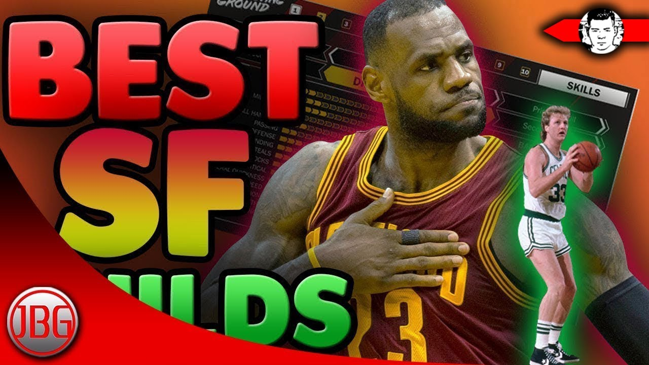 2be21c0ec89 MOST OVERPOWERED SMALL FORWARD Creation   NBA 2K18 Run The Neighborhood  Gameplay - My Career Tips