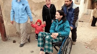 """Syrian Refugee - """"The moment I was shot I knew I would never walk again"""""""