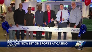 Rising Star Casino opens sports betting