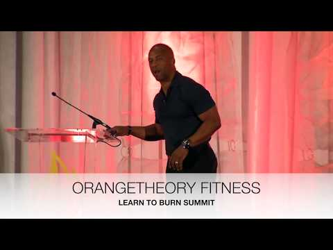 "JJ Birden Keynote Orangetheory Fitness ""Learn to Burn Summit"""