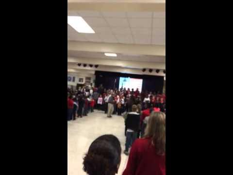 East Aiken school of the arts Veterans Day assembly