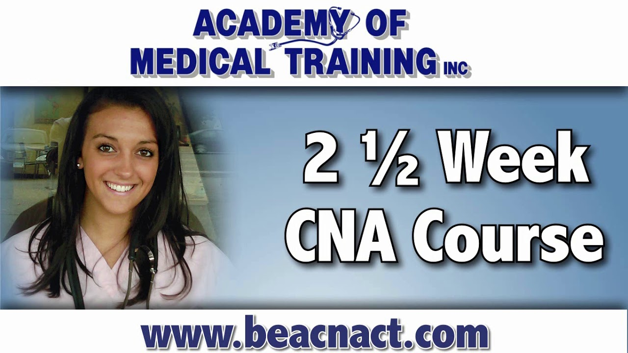 Earn Your Cna Certification Academy Of Medical Training