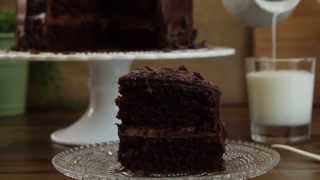 Cake Recipe - How To Make Chocolate Mayo Cake