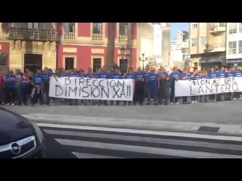 Movilización de los trabajadores de Lantero