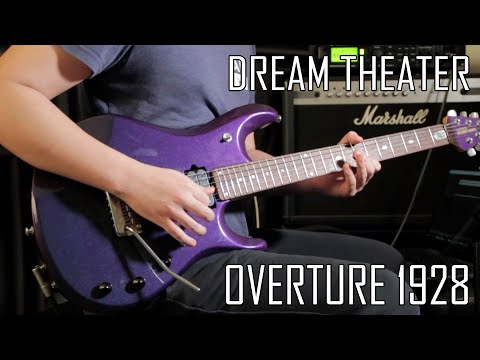 Dream Theater - Overture 1928 - Guitar Cover