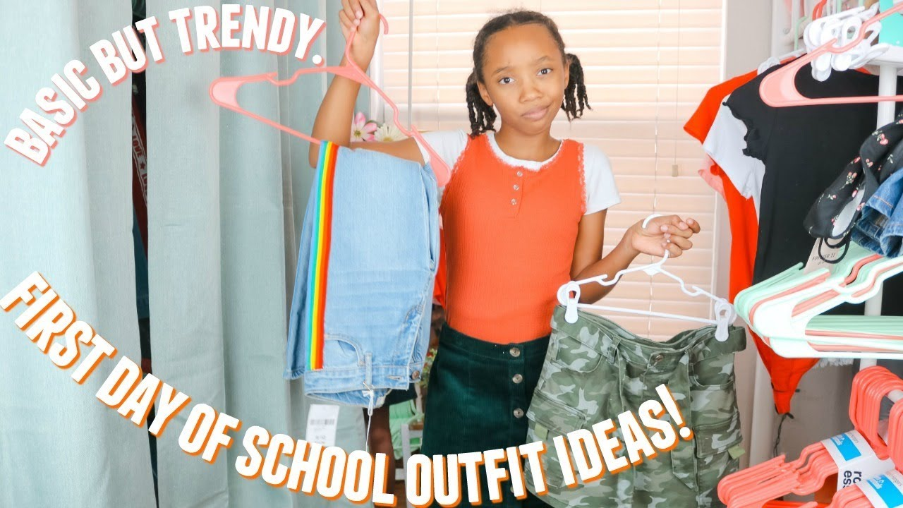 [VIDEO] – First Day Of Middle School Outfit Ideas!