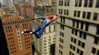 Swinging Around New York City For 1 Hour (Spider-Man 2018)