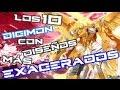 TOP 10 Digimon con Dise os m s Exagerados