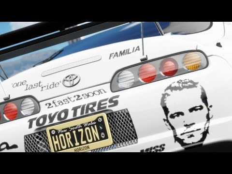 Forza Horizon 3 /Paul Walker Supra?