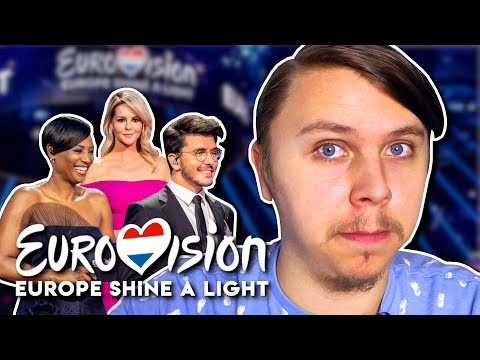 This Was REALLY Tough To Watch... - 'Eurovision: Europe Shine A Light' 🇪🇺 Reactions