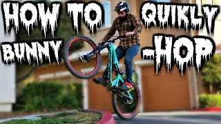 Learn to Bunnyhop a Mountain Bike For Beginners | Top 5 Tips for Learning to Bunny Hop MTB | MTB