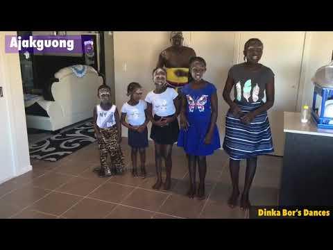 Children Dancing different Dinka Bor Dances