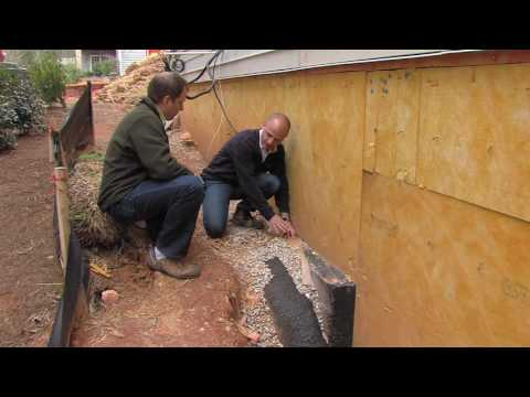 Protecting Your Home with Foundation Drain Tile   Residential Green Building