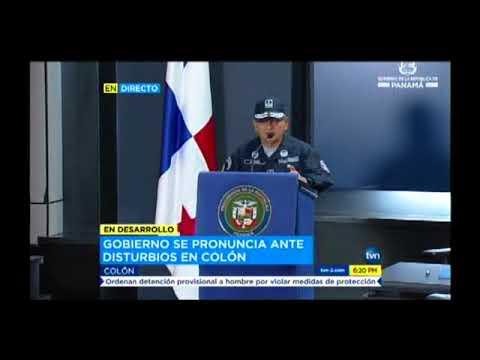 TVN conferencia de prensa   pronunciamiento por parte del presidente Juan Carlos Varela – acontecimi