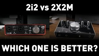 focusrite Scarlett 2i2 vs M-Audio M-Track 2X2M: Which Should You Get?