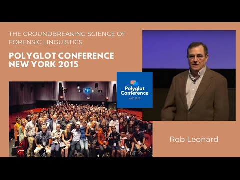 Dr. Rob Leonard - The Groundbreaking Science of Forensic Linguistics