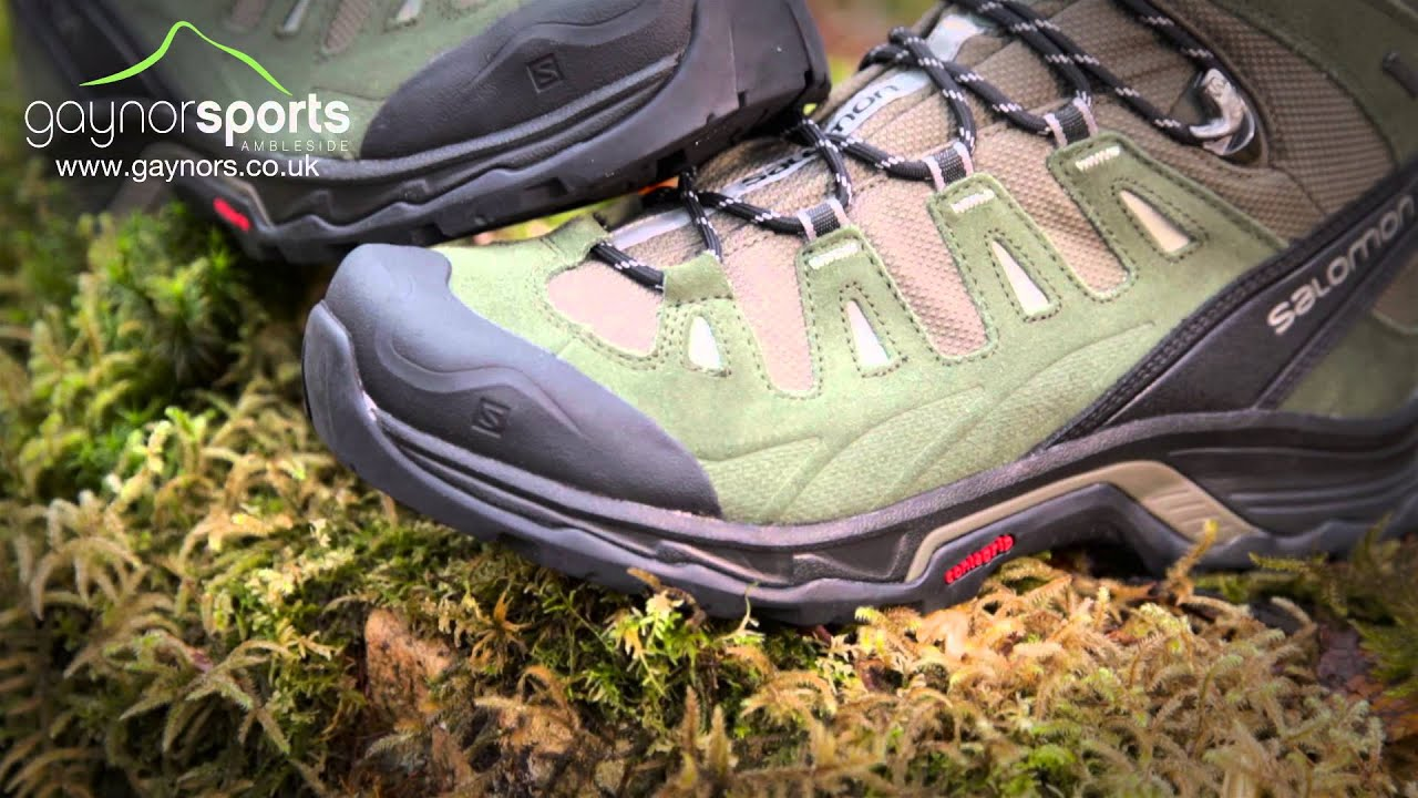 Salomon Quest Prime walking boot. gaynors.co.uk