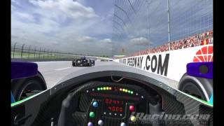 iRacing : 13th to 3rd in 20 Laps - Justin Wilson 150 (IndyCar - Texas)