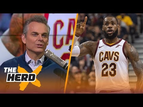 Colin thinks he is going to be right about LeBron James for the 8th straight year | THE HERD