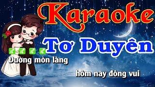 Karaoke Tơ Duyên