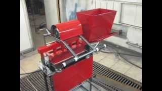 Самодельный станок,изготовление тротуарной плитки.(Самодельный станок,изготовление тротуарной плитки., 2013-02-17T19:36:23.000Z)
