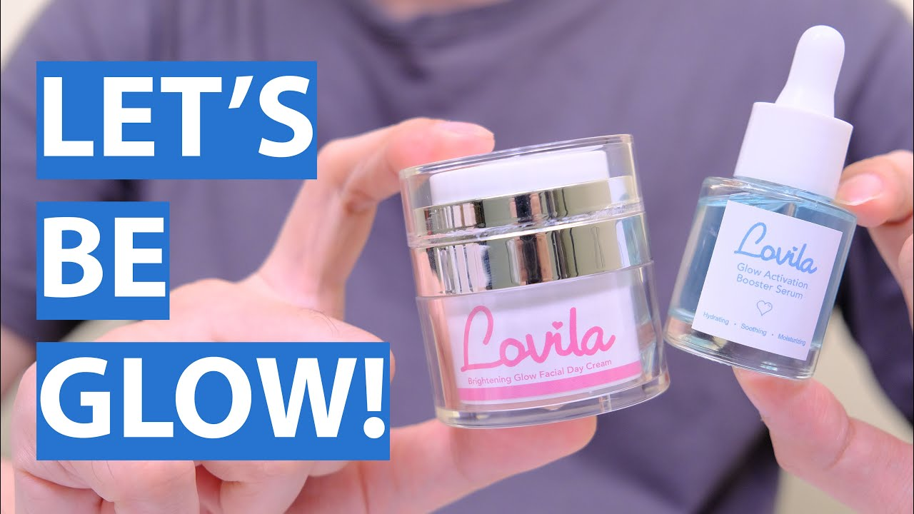 Review Skincare Lokal LOVILA! Auto Glowing Instant! Glow Activation Booster Serum & Facial Day Cream