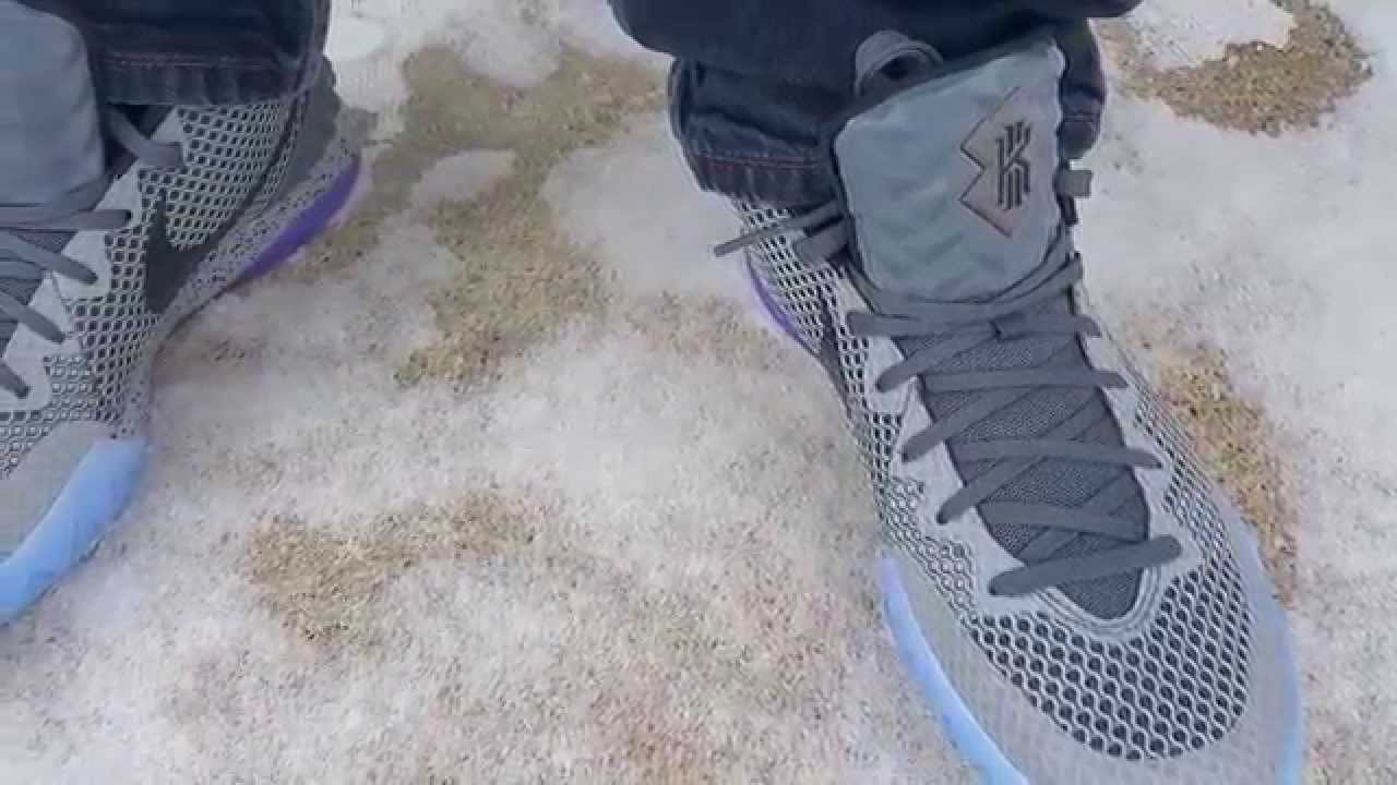 70f80d354707 NEW  Kyrie 1 All Star on feet View (SKOOFEE) - YouTube