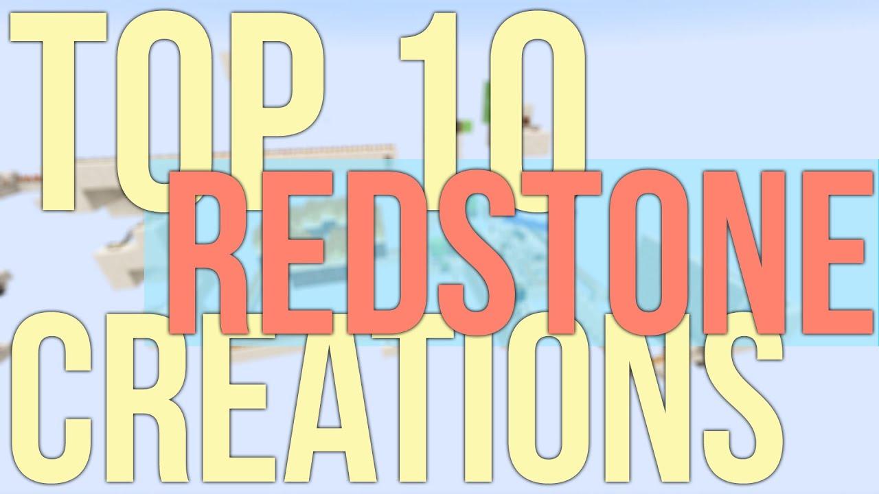Top 10 Minecraft Redstone Inventions - Amazing Redstone Creations