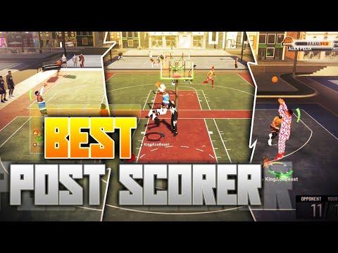 NBA 2K19 - BEST POST SCORER!!!