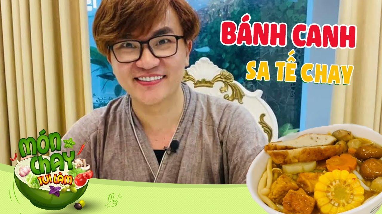 Nấu món BÁNH CANH SA TẾ CHAY vừa thơm ngon vừa bổ đỡ ngán trong mùa dịch   Món chay tui làm tập 89