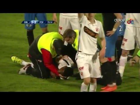 Динамо - Шахтар - 2:3. Футболисты устроили драку во время матча