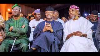 Hot Kenny Blaq Thrills VP Osinbajo Aregbesola EL Rufai amp Others