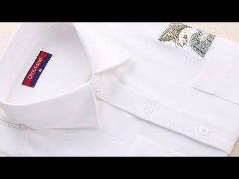 Распечатывам Женскую рубашку с вышивкой.Бренд:Dioufond.